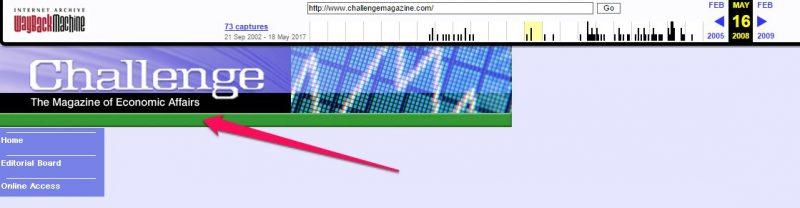 ChallengeMagazine.com archive