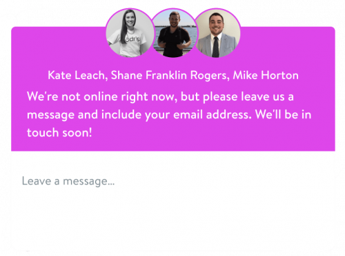 Drip Support Chat