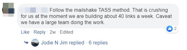 Facebook Post TASS