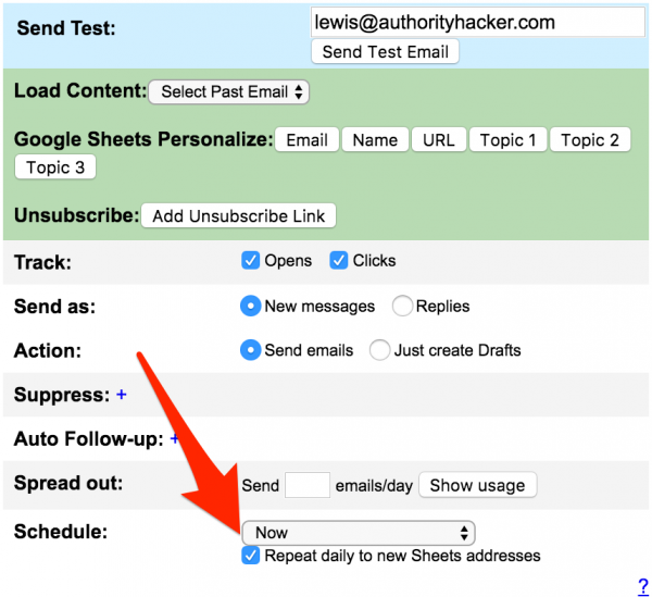 add prospects to existing campaigns with GMass