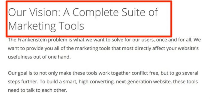 Thrive marketing tools