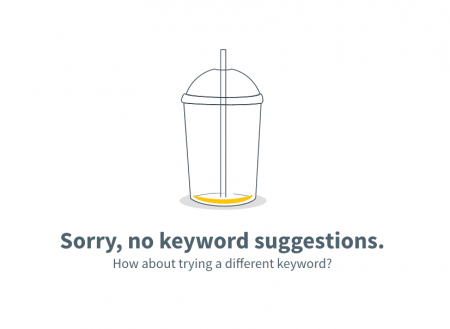 no keyword suggestions