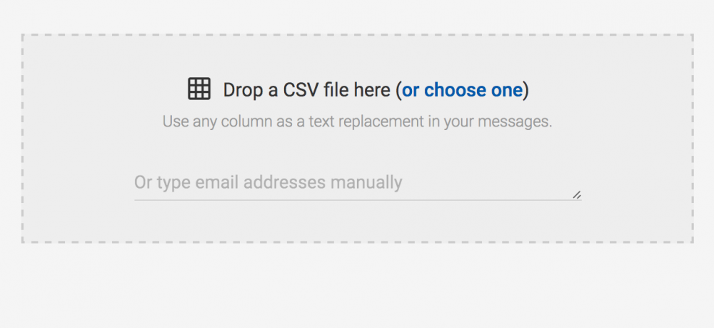 Mailshake uploading external CSV files