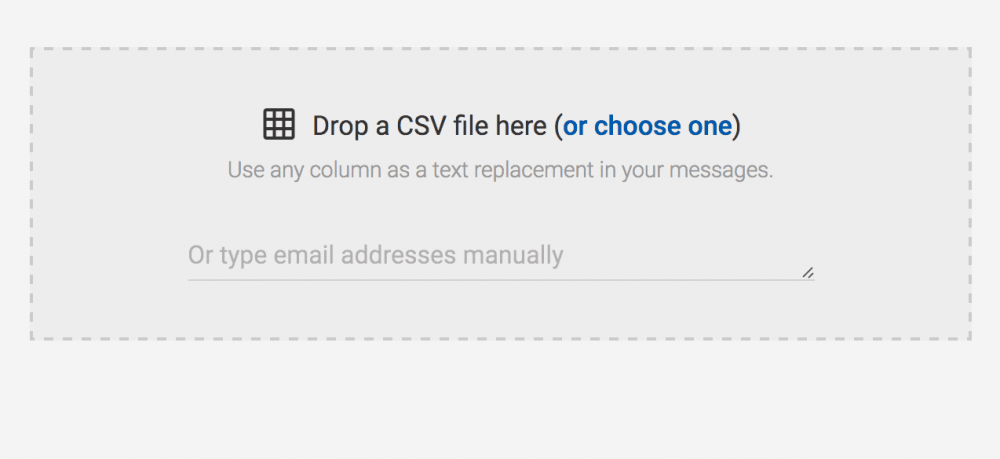 Mailshake uploading external CSV files