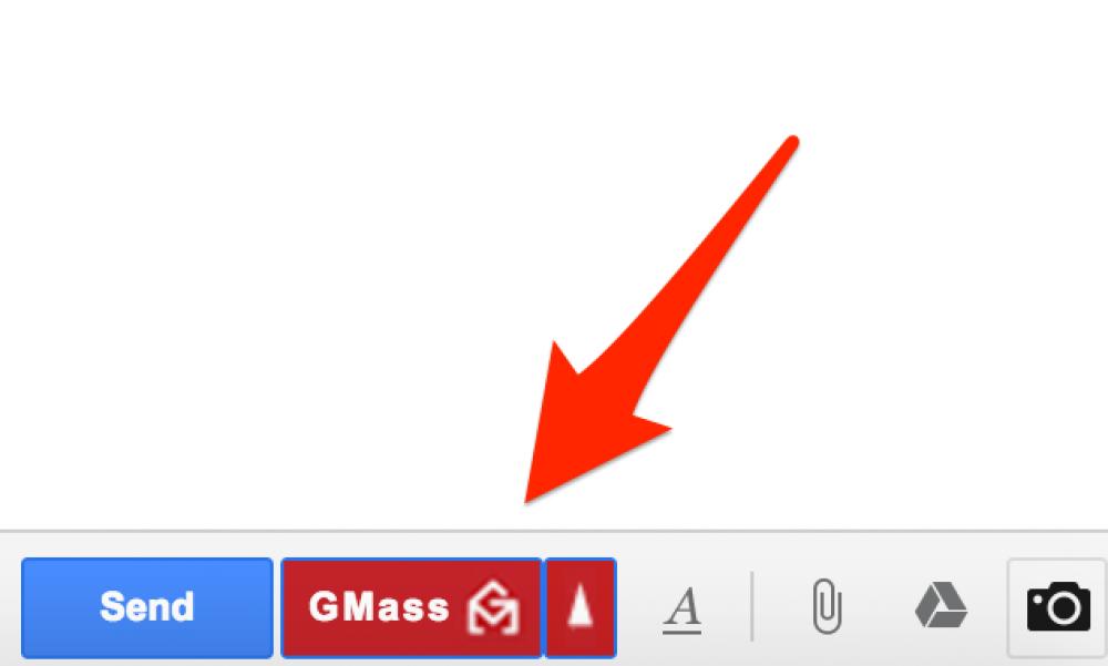 GMass Once-click sending