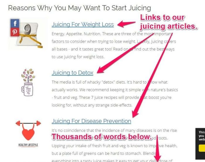 HealthAmbition Juicing silo