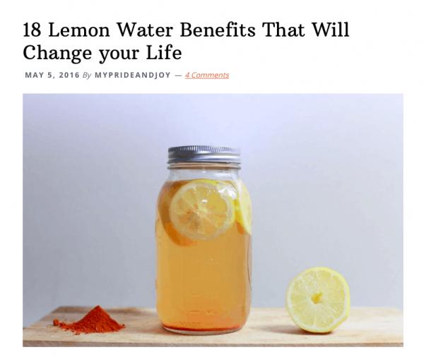 thewayuthink lemon water tutorial